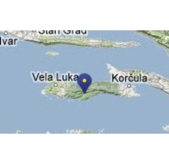 Ön Korcula og Korcula Stad
