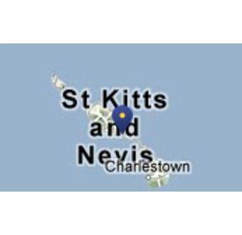 Hamnen Basseterre (Ön St. Kitts)