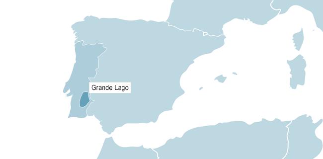 Karta över Grande Lago