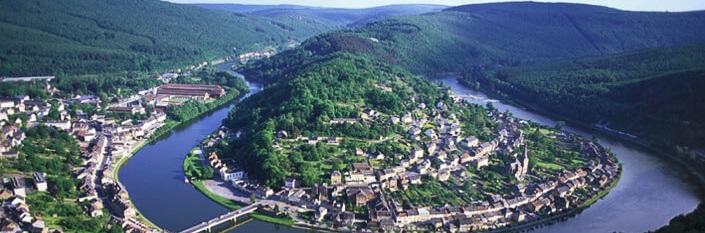 Flod i Ardennerna