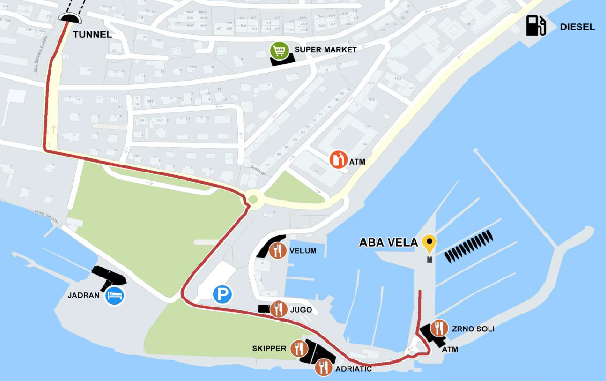Split ACI Marina (Aba Vela)