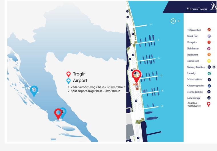 Trogir SCT (Angelina Yachtcharter)