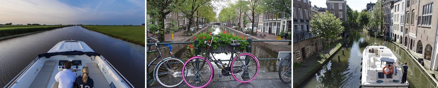 Kanalbåtar i Nederländerna