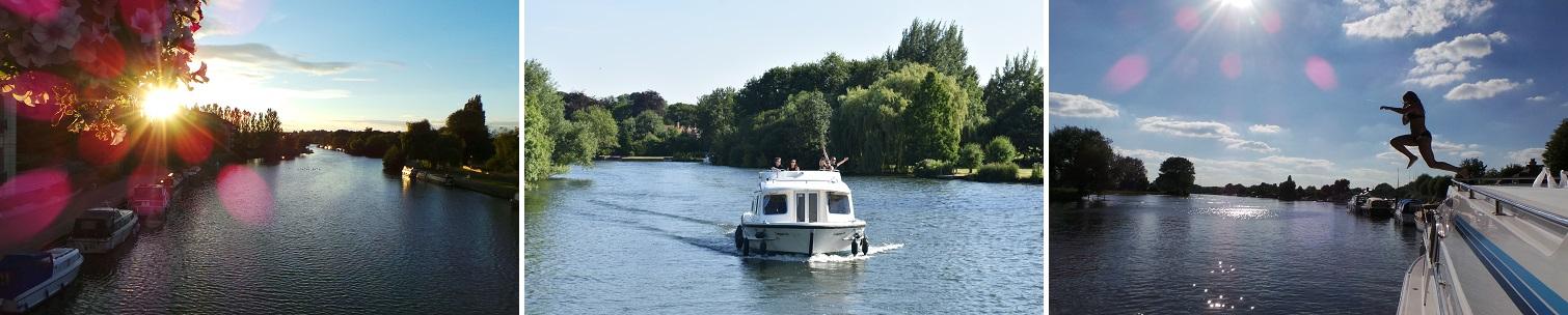 Kanalbåtar i England