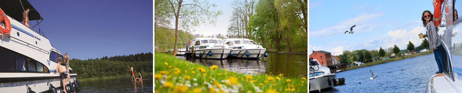 Kanalbåtar i Tyskland