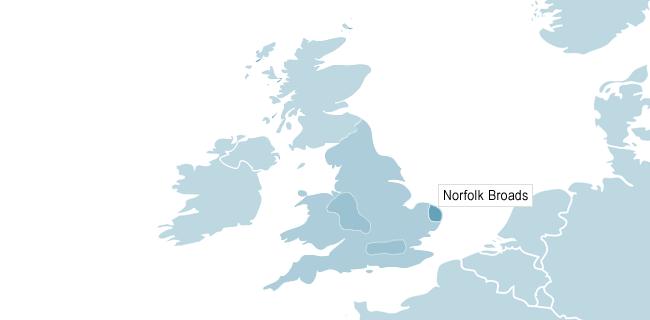 Karta över Cambridge